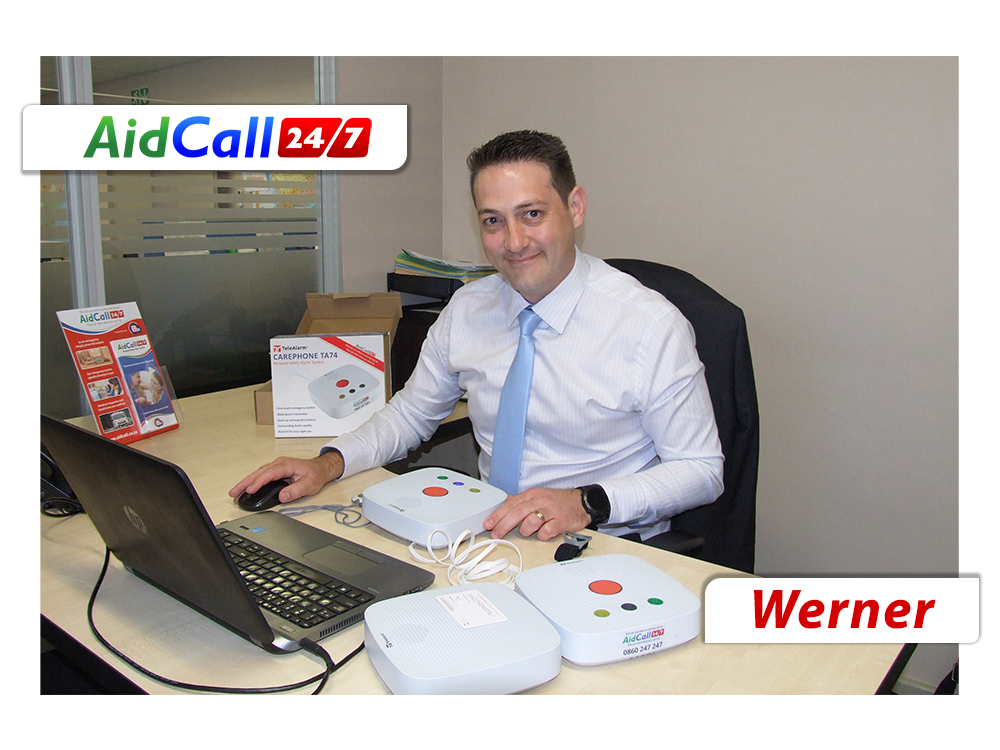 Werner Botha - AidCall Manager