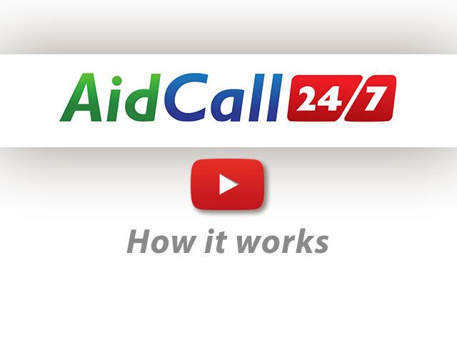 Aidcall 24/7 Carephone